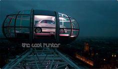 Fiat på en luftetur i London Eye.