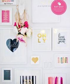 Gallery Wall Prints art at madegirl - madebygirl - i want it all! | home