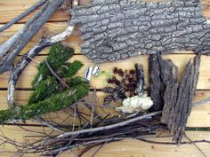 Outline of a 4-day fairy garden building camp from Kleas - good ideas for containers, materials, process