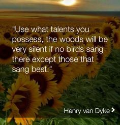 Share ur talents.