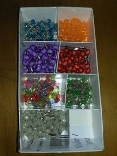 Rosary box from unused pvc card and box #diy #rosary #rosarybox #recycledbox #catholics #rosaryforfamily