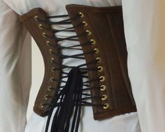 how to make a steampunk corset (or any corset for that matter)