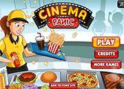 Cinema Panic | juegos de cocina - jugar online