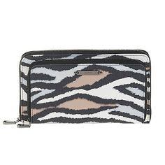 Love the style not sure about the animal print........, Parfois Beige 'Mondrian' wallet | Debenhams