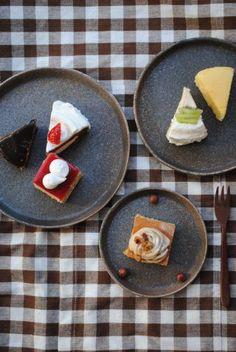 奥田章「ケーキ皿」の商品紹介ページです。