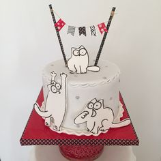 Simon's cat cake