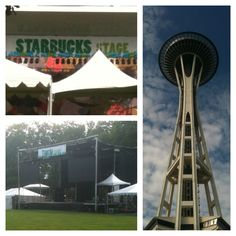 Seattle Center is getting ready for #Bumbershoot this weekend! Which artist are you excited for?