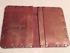 Brown Born to Roam Wallet by THEMODERNGYPSYCALIF on Etsy