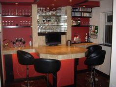 Bar Decorations For The Home With Ceramic Table