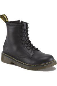 Dr. Martens - 8 eye - KIDS - Black with zip