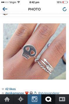 www.stylewanderer.com #ring #skull