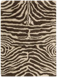 Nourison Shaggy Zebra Ivory/Brown 5.0-Feet by 7.0-Feet Polyacrylic-Blend Shag Rug Nourison http://www.amazon.com/dp/B0040BU82A/ref=cm_sw_r_pi_dp_cvSIub1M3TX5Z
