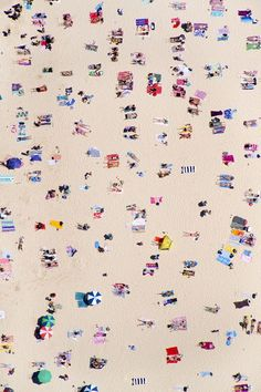 Aerial Images from Beaches All Over The World | Image via Gray Malin