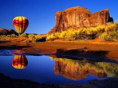 Arizona and a hot air balloon...what more could I ask for???