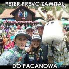 Peter Prevc zawitał do Pacanowa