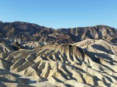 Zabriskie Point, Death Valley, USA #roadtrip