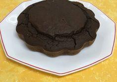 Bizcocho fitness de avena y chocolate