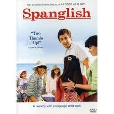 SPANGLISH MOVIE Widescreen DVD Adam Sandler Téa Leoni