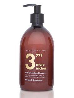 Michael Van Clarke 3 More Inches Pre-Wash Treatment.