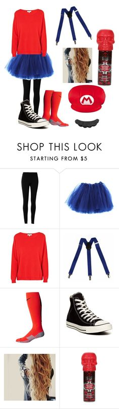 """""""Halloween❤️💚what are you being for halloween🎃"""" by ellamurphy19 ❤ liked on Polyvore featuring Max Studio, Cocoa Cashmere, NIKE and Converse"""