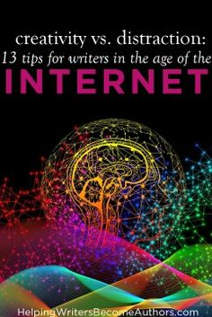 Distraction: 13 Tips for Writers in the Age of the Internet - Helping Writers Become Authors Writing Resources, Writing Tips, Writing Prompts, Authors, Writers, Grammar Tips, Check Email, Hero's Journey, Old Computers