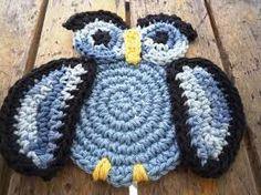 Resultado de imagem para tapetes de coruja em crochê