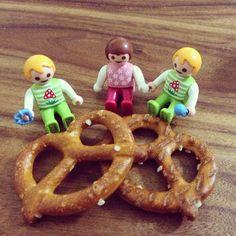 #삼둥이 남자둘여자하나. ㅎㅎ 나두 이렇게 쌍둥이 아니 삼둥이 낳고싶다. #플레이모빌 #playmobil #플모 저 미니쁘레츨을 커보이게 만드는 플레이모빌 아가들.