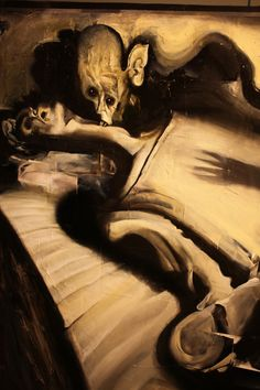 Dave McKean -- I think this is supposed to be a drawing of Nosferatu
