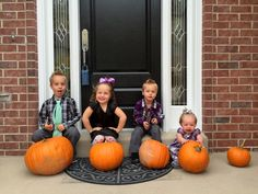 5 little pumpkin coming this May!