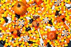 close-up of halloween candies. - Close-up image of halloween candies.