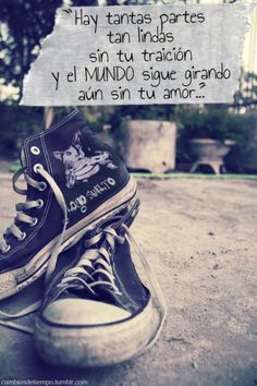 Cambios de Tiempo Sweet Quotes, Love Pictures, Chuck Taylor Sneakers, Music Bands, Rock And Roll, 1, Songs, Memes, Instagram