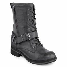 MIA girl Trooper Lace-Up Boots :: $52