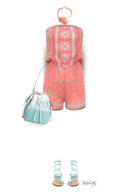 """Gladiator Sandals"" by pinkroseten ❤ liked on Polyvore featuring Lipsy, Stuart Weitzman and MICHAEL Michael Kors"