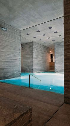 Therme Vals by Peter Zumthor.