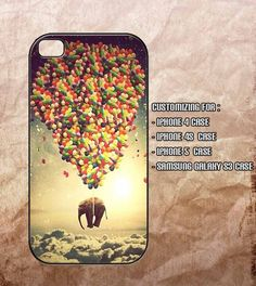 Elephant And Balloon Iphone 4 case , iphone. I just like the design.