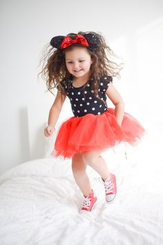 Perfect outfit for Disney! (How To Make A Tutu Minnie Mouse) Disney Bound Outfits, Disney Inspired Outfits, Disney Style, Disneyland Outfits, Toddler Fashion, Toddler Outfits, Kids Outfits, Kids Fashion, Disney Fashion