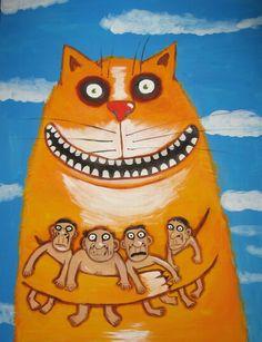 Russian artist Vasya Lozhkin painting 10