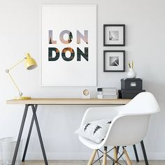 London Print Printable Art London wall art print Digital