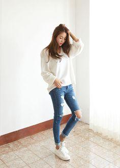 Resultado de imagem para korean swagger girl cute