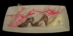 Chocolate Shoe Party Favors
