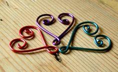 Wire Work Hearts