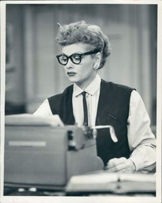 """I am a real ham. I love an audience. I work better with an audience. I am dead, in fact, without one."" - Lucille Ball"