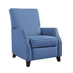 A comfortable feel with a sleek, transitional look, the Dorel Living noa pushback recliner is a great way to bring style and flair to your living space. This modern recliner features a tailored and sophisticated look, highlighted with the subtle detail of the lightly flared tuxedo and a welting... more details available at https://furniture.bestselleroutlets.com/children-furniture/chairs-seats/recliners/product-review-for-dorel-living-da7773-noa-pushback-recliner-blue/