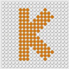 kralenplank letter K
