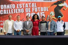Esta tarde se llevó a cabo la ceremonia de inauguración del II Torneo Estatal Callejero de Futbol 2015, con la presencia de la directora de la Comisión Estatal de Cultura ...