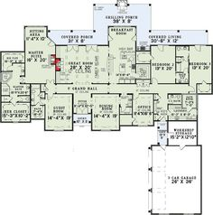Plan European, Photo Gallery, French Country, Luxury House Plans U0026 Home  Designs I Love Alot Of The Features: Dedicated Guest Room With Itu0027s Own  Private ...