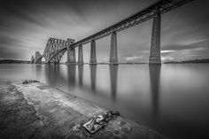 Forth Rail Bridge Slipway by sandpiper2011