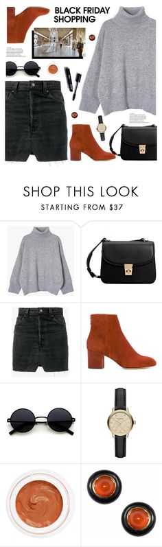 """Black Friday Shopping"" by tamara-p ❤ liked on Polyvore featuring MANGO, Vetements, rag & bone, Burberry, rms beauty, Origin 31 and blackfriday"