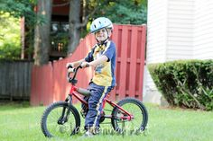Riding Bike - Summer Fun