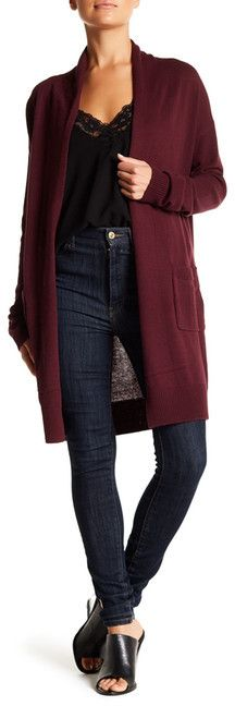 For fall fashion. long cardi. Abound Long Open Front Cardigan